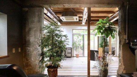 カフェ併設の古民家美容室「WAEN(ワエン)」