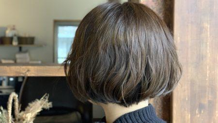 クセ毛を生かした無造作ボブ|ショート|レディース